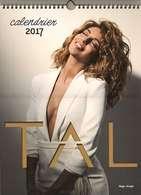 Calendrier 2017 à Spirale - Chanteuse Tal - 24 Photos Pour Les 12 Mois De L'année - TBE - Calendars