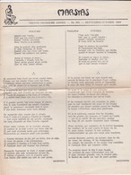 GIORNALE FRANCESE - MARSYAS - TRENTE - TROISIEME  ANNE'E - N° 305 - 1953 - Giornali