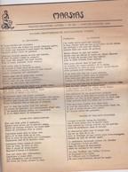 GIORNALE FRANCESE - MARSYAS - TRENTE - DEUXIE'ME  ANNE'E - N° 291 - 1952 - Giornali