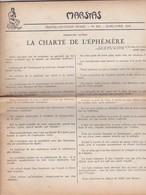 GIORNALE FRANCESE - MARSYAS - TRENTE - DEUXIE'ME  ANNE'E - N° 292 - 1952 - Giornali