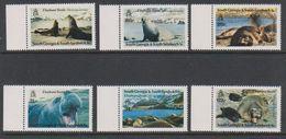South Georgia 1991 Elephant Seals 6v (+margin) ** Mnh (39453D) - Zuid-Georgia
