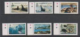 South Georgia 1991 Elephant Seals 6v (+margin) ** Mnh (39453E) - Zuid-Georgia