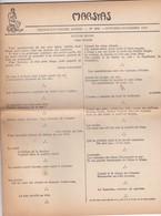 GIORNALE FRANCESE - MARSYAS - TRENTE - ET - UNIE'ME  ANNE'E - N° 289 - 1951 - Giornali