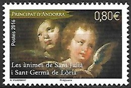"Andorre 2016 : N° 792 ** - ""Les ànimes De Sant Julià I Sant Germà De Lòria"" - Neuf ** - - Andorre Français"