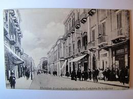 ITALIA - SICILIA - MESSINA - La Via Garibaldi Presa Dalla Cartoleria De Francesco - 1914 - Messina