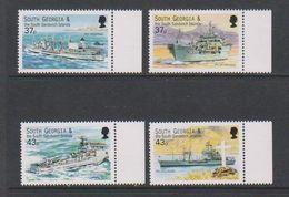 South Georgia 2001 Auxiliary Fleet 4v (+margin)  ** Mnh (39453H) - Zuid-Georgia