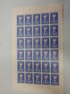1065 Europa 1958 Plaatnummer 1 - Hojas Completas