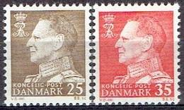 DENMARK  #  FROM 1963 STAMPWORLD 415-16** - Denmark