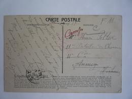CP APOTHÉOSE DE MISTRAL - CACHET 30 E RÉGIMENT D'INFANTERIE LE VAGUEMESTRE 15-01-1917 ANNECY HAUTE SAVOIE - Oorlog 1914-18
