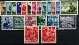 3391-Alemania Imperio Nº 791/803, 805/10, 825/6 - Alemania