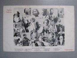CPA Antique Postcard - Ceylon Ceylan Natives - Types Of The Native Races Met With In Ceylon - Skeen Photo - Sri Lanka (Ceilán)