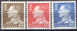 DENMARK  #  FROM 1965 STAMPWORLD 432-34** - Denmark