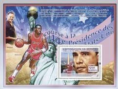 GUINEA 2008 - B. Obama, M.L. King - YT BF903; CV = 13 € - Martin Luther King