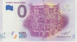 Billet Touristique 0 Euro Souvenir Autriche - Kunst Haus Wien 2018-1 N°NEAA003793 - EURO