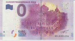 Billet Touristique 0 Euro Souvenir Autriche - Hundertwasserhaus Wien 2017-1 N°NELN004206 - EURO