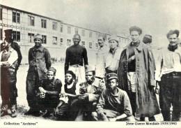 """COLLECTION """"ARCHIVES"""" - Soldats Français De Toutes Races Prisonniers Des Allemands - Guerra 1939-45"""