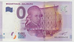 Billet Touristique 0 Euro Souvenir Autriche - Mozarthaus-Salzburg 2017-1 N°XELH000452 - EURO