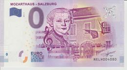 Billet Touristique 0 Euro Souvenir Autriche - Mozarthaus-Salzburg 2017-2 N°NELH004080 - EURO
