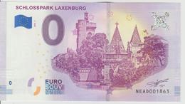 Billet Touristique 0 Euro Souvenir Autriche - Schlosspark Laxenburg 2018-1 N°NEAD001863 - EURO