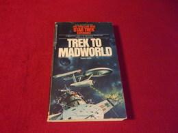 STAR TREK  /  TREK TO MADWORLD - Livres, BD, Revues