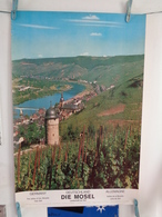 AFFICHE: ALLEMAGNE , Vallée De La Moselle Prés De Zell  ,H 75 L 49,7 - Affiches