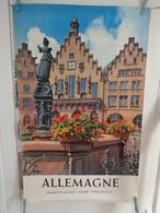 AFFICHE: ALLEMAGNE  Frankfurt ,hôtel De Ville   ,H84 L 59,5 - Affiches
