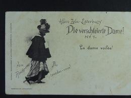 Affaire Zola-Esterhazy La Dame Voilée ! - Evènements