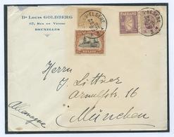 Emission 1915: Emploi Tardif Du 142 Affranchissement 3 Emissions Dont PU25 - 1915-1920 Albert I.