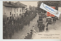 STENAY : Arrivée Du 120 é Régiment D'Infanterie 1913,animée. Cliché Girardot. - Stenay