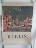 AFFICHE: BERLIN  ,H 84 L 59 - Affiches