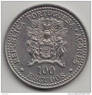 @Y@    Azoren   100 Escudos  1986   (4067) - Azores