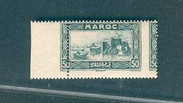 MAROC VARIETE N° 139 KASBAH DES OUDAIAS PIQUAGE A CHEVAL RARE N** TB - Marocco (1891-1956)