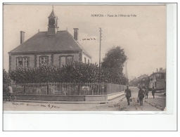 SOMPUIS - Place De L'Hôtel De Ville - Très Bon état - Frankreich