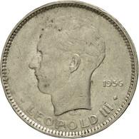 Monnaie, Belgique, 5 Francs, 5 Frank, 1936, TTB, Nickel, KM:109.1 - 1934-1945: Leopold III