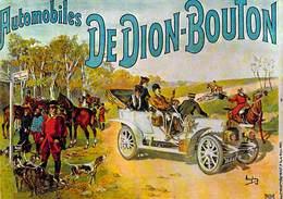 PUB Publicité NUGERON VA  3-Nos VIEILLES AFFICHES  - Automobiles DE DION BOUTON (auto Voiture Automobile)*PRIX FIXE - Advertising