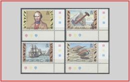 Sant'Elena 1982 - Cat. 355/58 (MNH **) Viaggio Di Charles Darwin - Charles Darwin's Voyage (010698) - Saint Helena Island