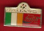 18737-.italie.coupe Du Monde De Football 1990 .coca Cola. - Football