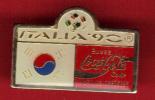 18736-.italie.coupe Du Monde De Football 1990 .coca Cola. - Football