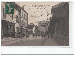 CONFLANS -SAINTE HONORINE - Rue De L'Hôtel De Ville - Très Bon état - Conflans Saint Honorine