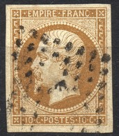 NAPOLEON ND N° 13Bb  BRUN OB. PC   TB - 1853-1860 Napoleon III