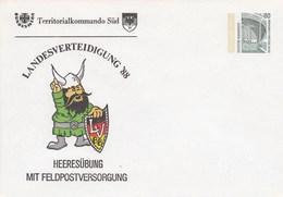 PU 288/47b** Landes`verteidigung'88 - Heeresübung Mit Feldpostversorgung - Privé Briefomslagen - Ongebruikt