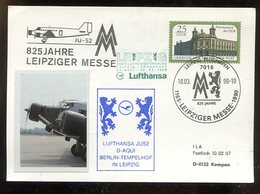 DDR / 1989 / Sonderpostkarte Mi. P 104 Mit Privatem Zudruck, SSt. (11809) - [6] Repubblica Democratica