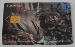 Tarjeta Cuba Nº 111 - John Lennon - Cuba