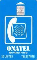 Tarjeta Burkina Faso - Onatel - 20 Unites - Burkina Faso