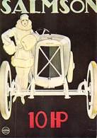 PUB Publicité NUGERON VA  16-Nos VIEILLES AFFICHES  - Automobiles SALMSON 10 HP (auto Voiture Automobile)*PRIX FIXE - Advertising