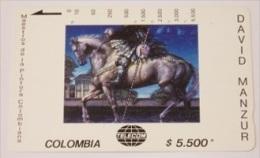 Tarjeta Colombia David Manzur - Colombia