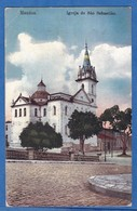 CPA - MANAOS - Igreja De Sao Sebastiao - 1909 - Cachet Amazonas - G. Huebner & Amaral Photographia Allema - Manaus