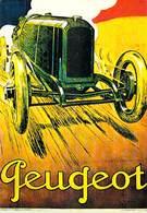 PUB Publicité NUGERON  VA 18-Nos VIEILLES AFFICHES  Automobiles PEUGEOT  Paris (auto Voiture) *PRIX FIXE - Advertising