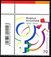 BRD - Mi 3403 ECKE LIO - ** Postfrisch (C) - 70C      Magnus Hirschfeld - Ausgabe: 12.07.2018 - [7] République Fédérale