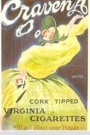 PUB Publicité NUGERON VA 22- VIEILLES AFFICHES -CRAVEN A Virginia Cigarettes Tabac (CRAVENA)  (Jean D'YLEN )*PRIX FIXE - Advertising